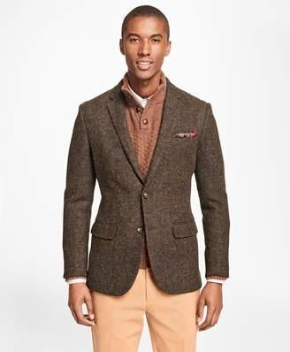 Brooks Brothers Milano Fit Harris Tweed Sport Coat