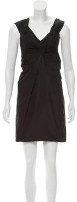 Marc Jacobs Silk Mini Dress Black Silk Mini Dress