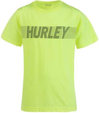 Hurley Big Boys Moto Logo Graphic T-Shirt