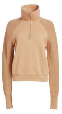 Helmut Lang Zip Combo Sweater
