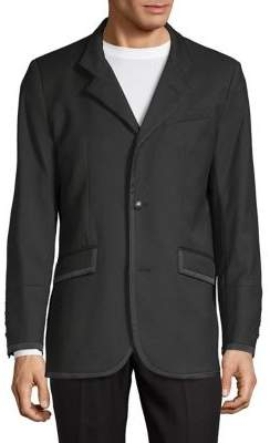 Karl Lagerfeld Military Notch Blazer