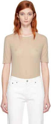 Joseph Beige Pure Cashmere T-Shirt