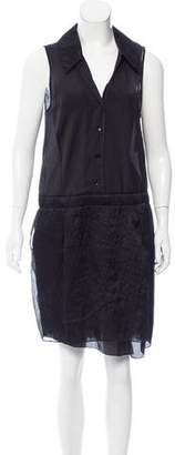 Nina Ricci Sleeveless Knee-Length Dress w/ Tags