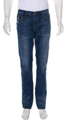 J Brand Dylan Distressed Skinny Jeans