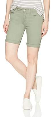 Calvin Klein Women's Slub Twill Rolled Short