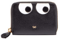 Anya Hindmarch Anya Hindmarch Keepsake Small Box Eyes Wallet, Black