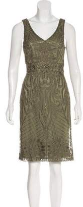 Sue Wong Embellished Sleeveless Dress w/ Tags