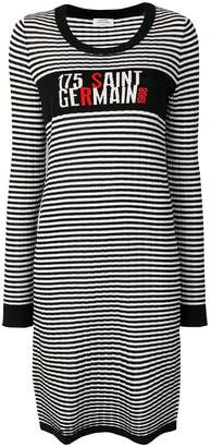 Sonia Rykiel striped fitted sweater dress