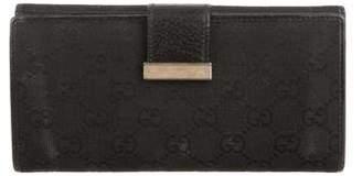 Gucci GG Canvas Continental Wallet