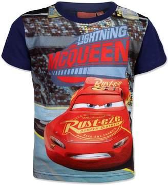 Disney Pixar Cars Boys Blue Short Sleeve T-Shirt Age