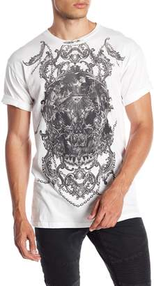 Rogue Abstract Skull Tee
