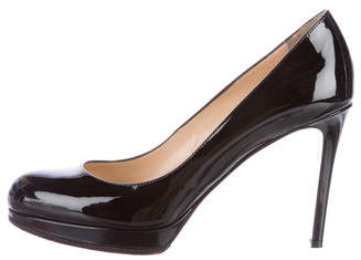 Christian Louboutin  Christian Louboutin Patent Leather New Simple Pumps