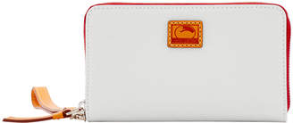 Dooney & Bourke Patterson Leather Zip Around Phone Wristlet