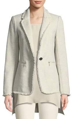 Lafayette 148 New York Lyndon Morning Dew Tweed Jacket