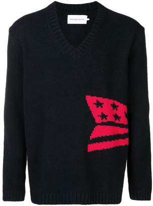 Calvin Klein Jeans knitted V-neck sweater
