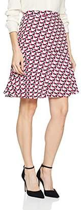 Taifun Women's Rock Gewebe Kurz Skirt,12