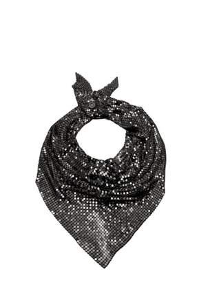 Paco Rabanne Chain Mail Scarf - Womens - Black