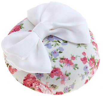 Floral Bow Hat Hair Piece