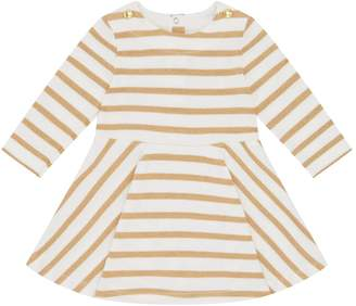 Petit Bateau Sparkle Stripe Dress