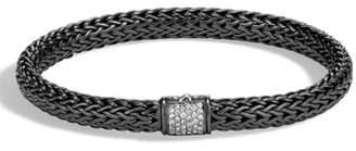 John Hardy Classic Chain Diamond Bracelet