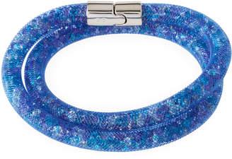 Swarovski Stardust Convertible Crystal Mesh Bracelet/Choker, Blue Multi, Medium $60 thestylecure.com