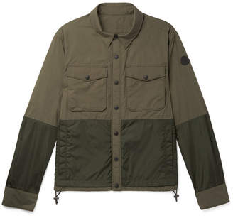 Moncler Ander Cotton And Nylon Shirt Jacket