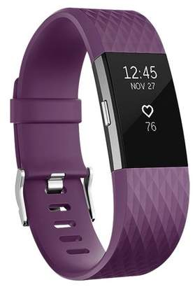 Fitbit Vancle Charge 2 Bands Band Replacement Small Large Silicone Special Black, Large