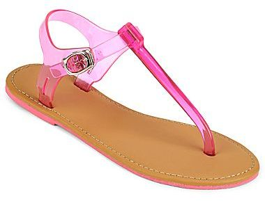 JCPenney Jelly Thong Sandals