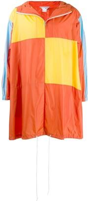 Comme des Garcons Boys colour-block raincoat