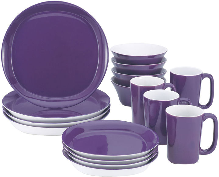 Rachael Ray Round & Square 16-pc. Dinnerware Set