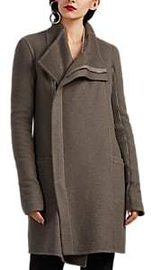 Rick Owens WOMEN'S EILEEN DOUBLE-FACED CASHMERE COAT