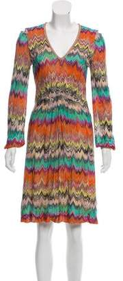 Missoni Chevron Midi Dress