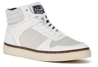 Original Penguin Byron Leather & Suede Contrast Sneaker