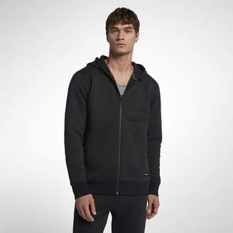 Hurley Hollowknit Fleece Full-Zip Men's Hoodie