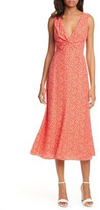 Rebecca Taylor Malia Twist Front Dress