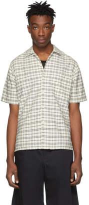 Ami Alexandre Mattiussi Off-White and Black Check Shirt