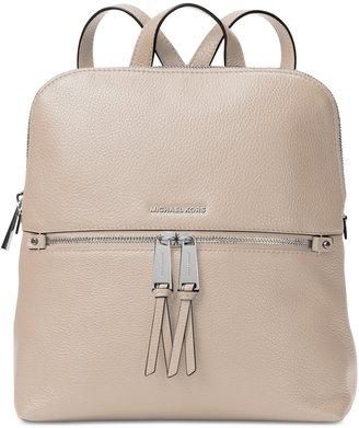 MICHAEL Michael Kors Rhea Medium Slim Backpack $258 thestylecure.com