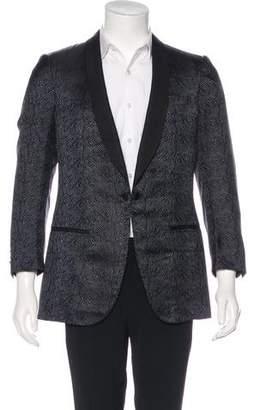 Lanvin Velour Tuxedo Blazer