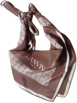 Lanvin Vintage Other Silk Scarves