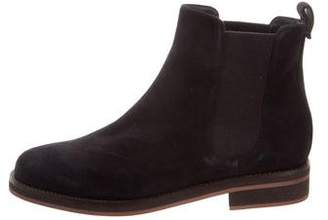 Loro Piana Suede Chelsea Ankle Boots