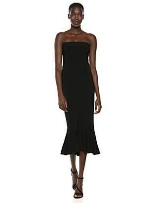 Norma Kamali Women's Strapless Fishtail Dress to Midcalf