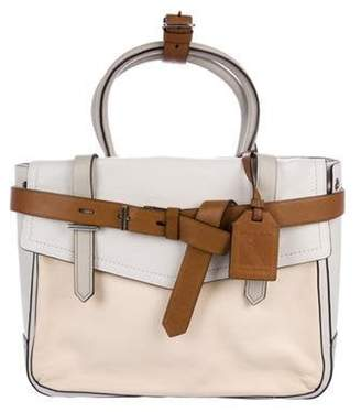 Reed Krakoff Leather Boxer Tote Beige Leather Boxer Tote