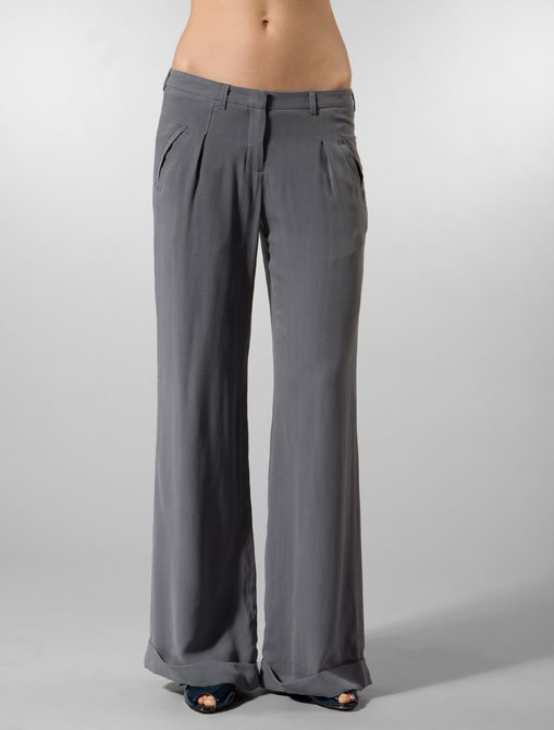 Rose Trouser Pant in Dark Grey