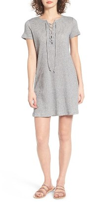 Women's Roxy Go Your Way Lace-Up Dress $49.50 thestylecure.com