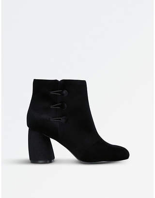 Nine West Khraine suede heeled ankle boots