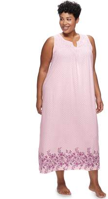 Croft & Barrow Plus Size Long Nightgown