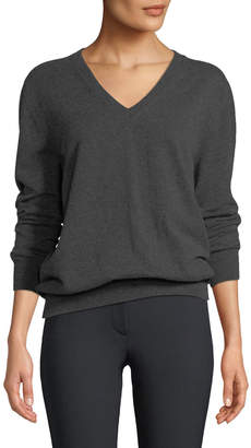 The Row Sabry Long-Sleeve Cashmere Sweater