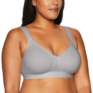 Playtex Women's 18 Hour Lift & Support Cool Comfort Cotton Stretch Wire Free Bra