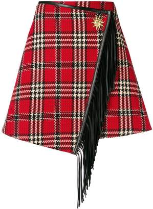 Fausto Puglisi checked mini skirt