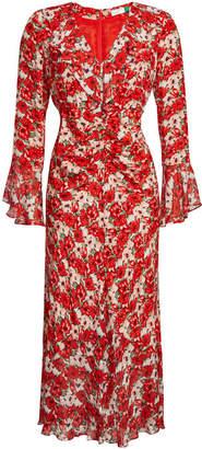Coleen RIXO LONDON Floral Silk Dress